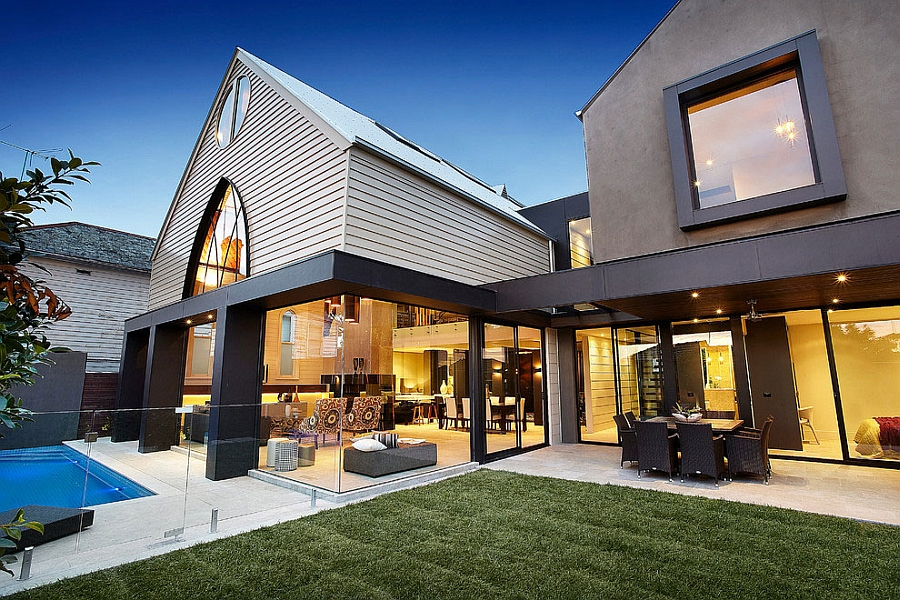 1892 Anglican church turned into a contemporary home