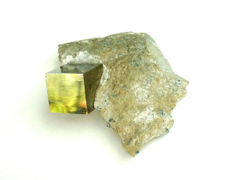 A pyrite specimen from Recycling the Past