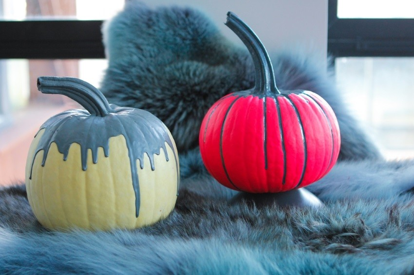 A swoon-worthy take on pumpkin decoration