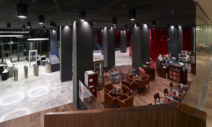Creative Dogus Holding Headquarters In Istanbul With Dynamic Design
