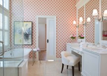 25 Gorgeous Feminine Bathrooms That Promise A Refreshing Dip