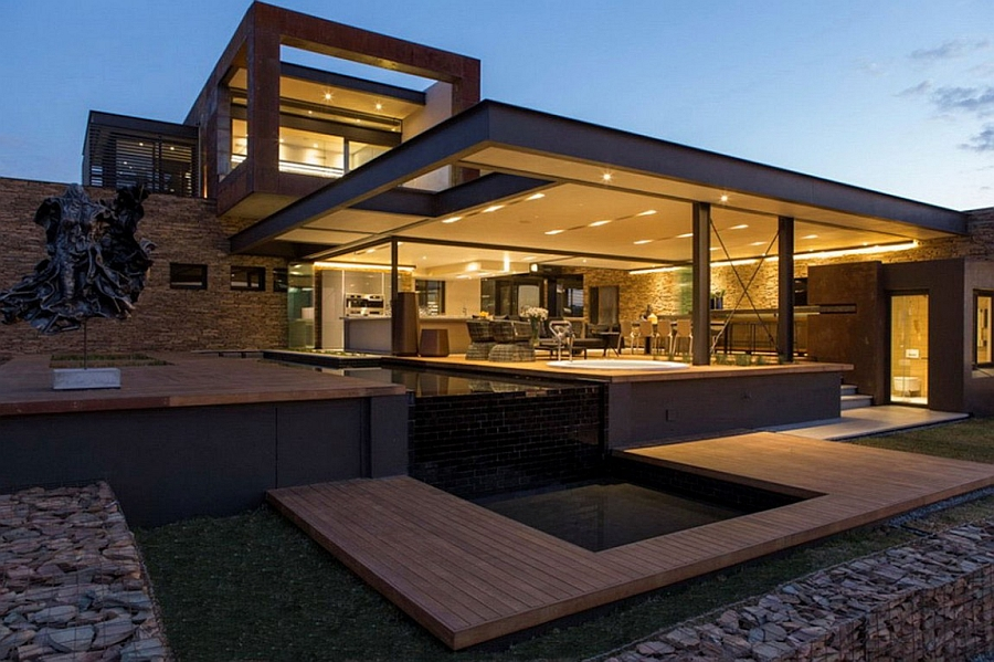 10 modern house designs plans for Home design ideas south africa
