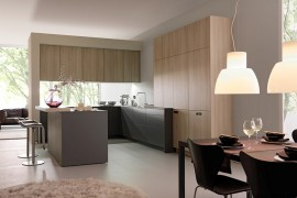 Innovative Contemporary Kitchen With Serene Style!