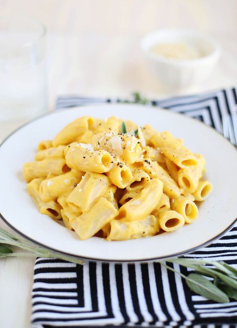 Butternut squash pasta from A Beautiful Mess