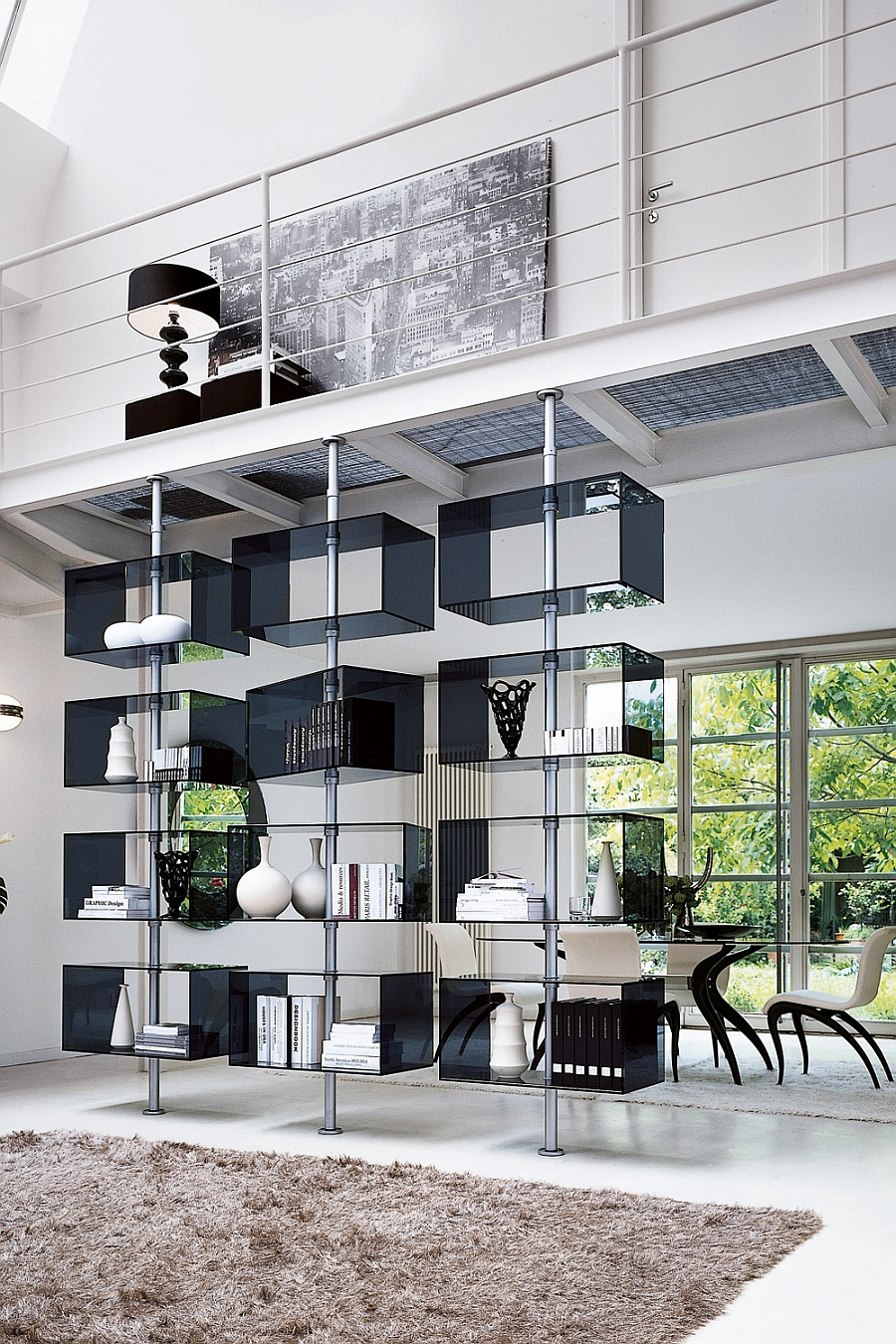Captivating wall unit steals the show with its clever design