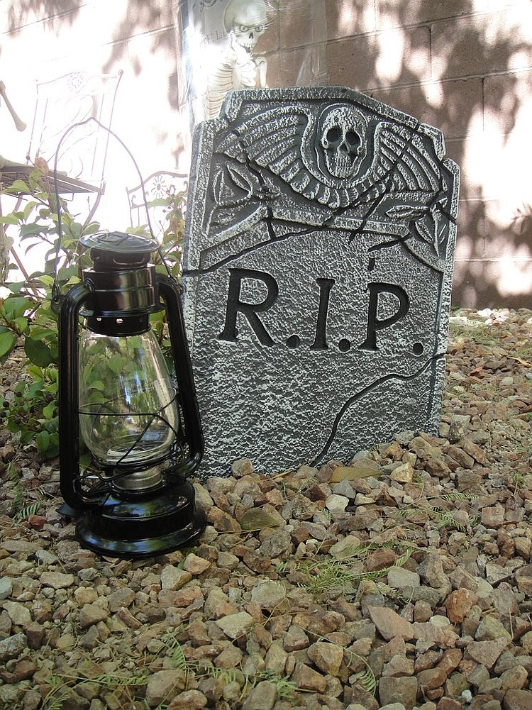 carve out a diy tombstone this halloween design kgrahi
