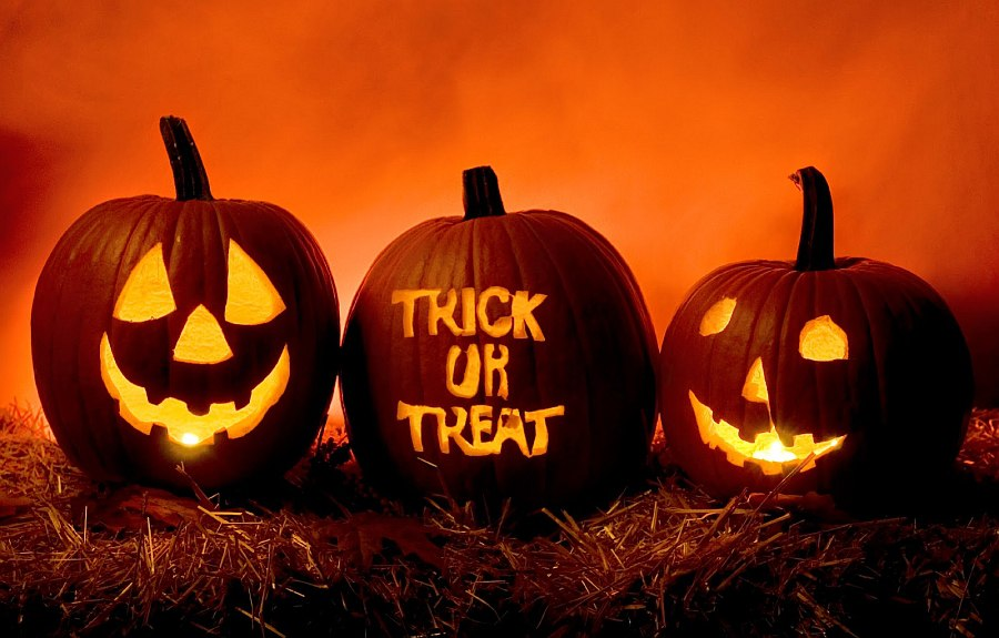 trick or treat pumpkin template - pumpkin carving ideas