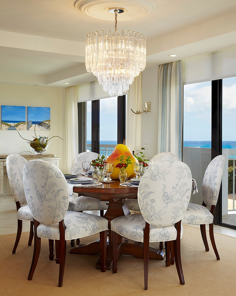 Mix And Chic Bright And Colorful Dining Room Ideas: 20 Dashing Dining Rooms With A Scenic Ocean View