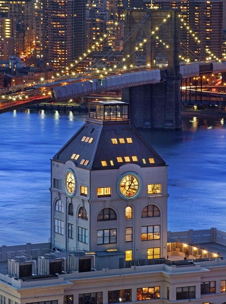Clock Tower Triplex Penthouse in Brooklyn