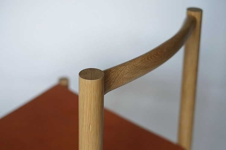 Close-up of the Range Chair by Fort Standard