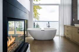 Create A Cozy Modern Bathroom On A Budget