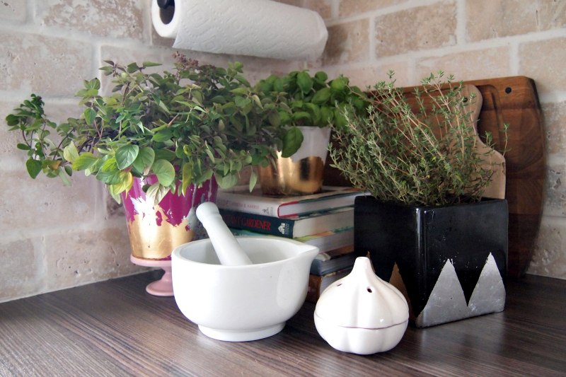 Create an eclectic blend of textures and patterns with the trendy DIY Planter