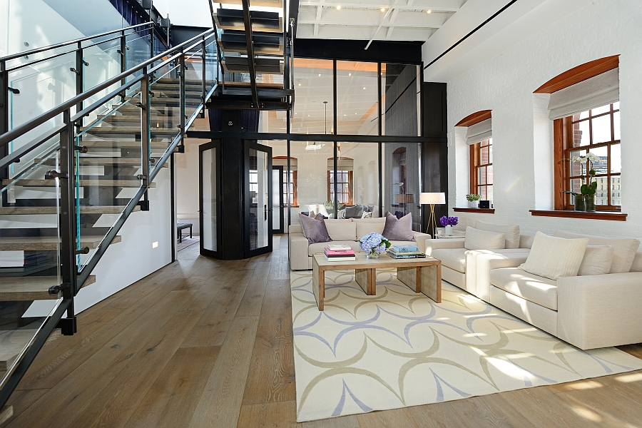 Posh Penthouse Loft Blends Timeless NYC Magic With Modern ...