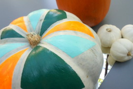 A DIY Pumpkin Decorating Idea