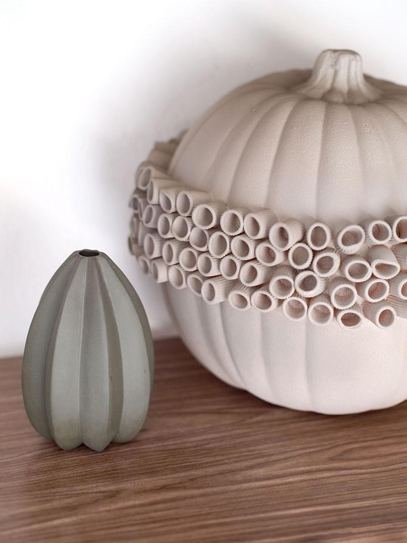 DIY textural pumpkin from Happy Mundane