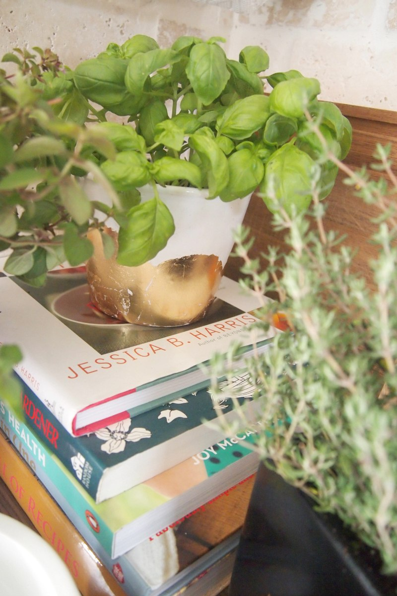 Decorate in style with DIY planters and books