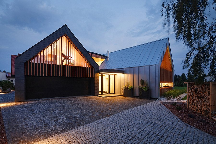 Two Barns House Inspiring Contemporary Home Poland
