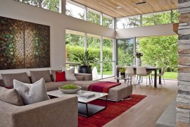 Tranquil Private Forest House In Vancouver Invites Nature Indoors