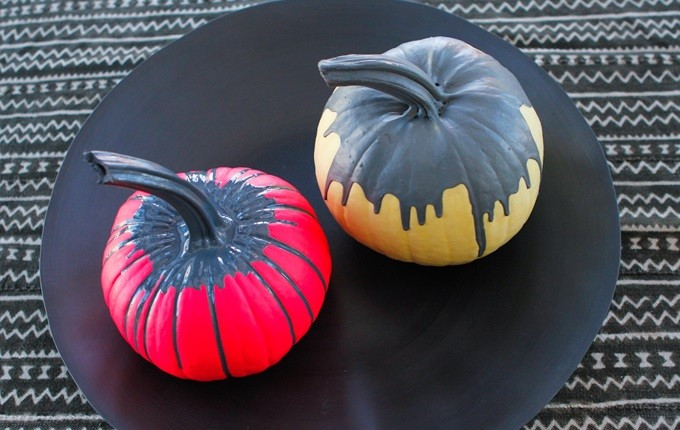 Elegant pumpkins designed by Athena Calderone