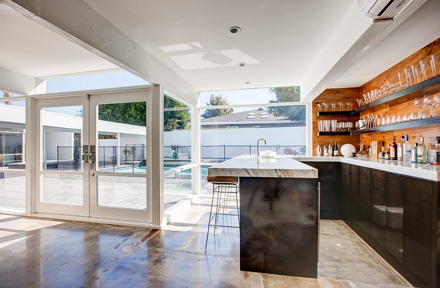 Two story mid century home gets fancy remodel - Accessible home design ...
