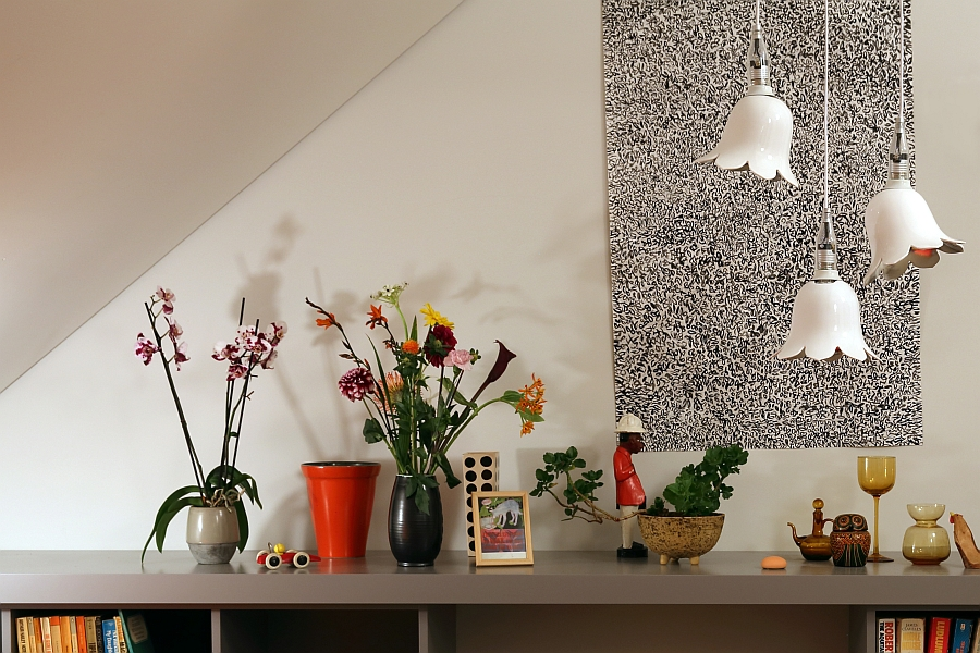 Flowery pendant lights from Nika Zupanc for Booo