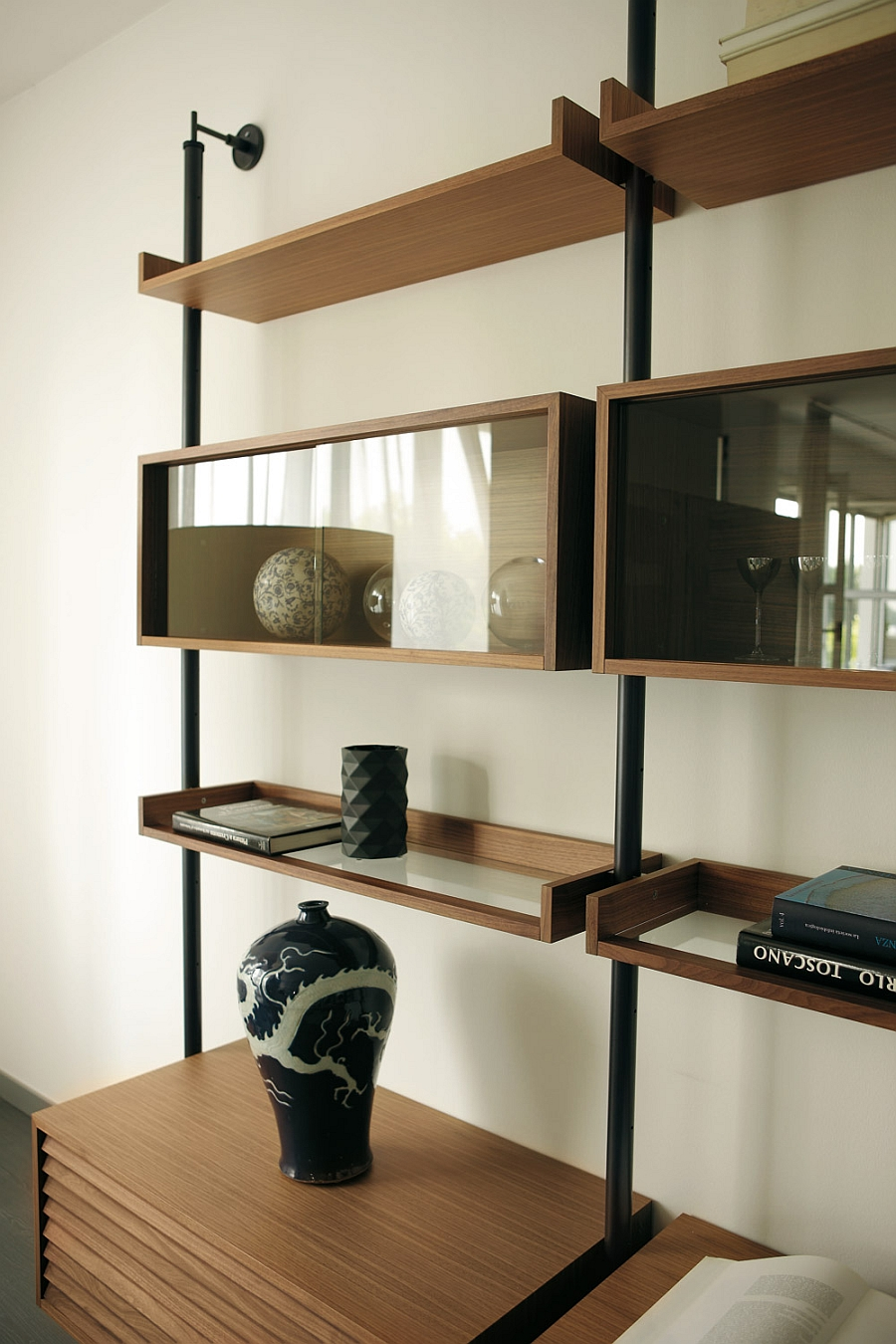 Stunning Minimalist Living Room Wall Unit Systems, Italian