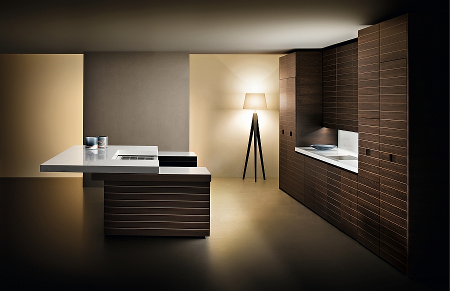 Slide checkers inspired luxury kitchens with for Cuisine de luxe contemporaine