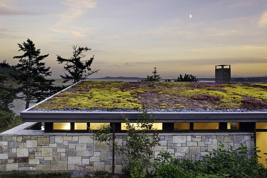 Green rooftop of the beautiful North Bay Residence