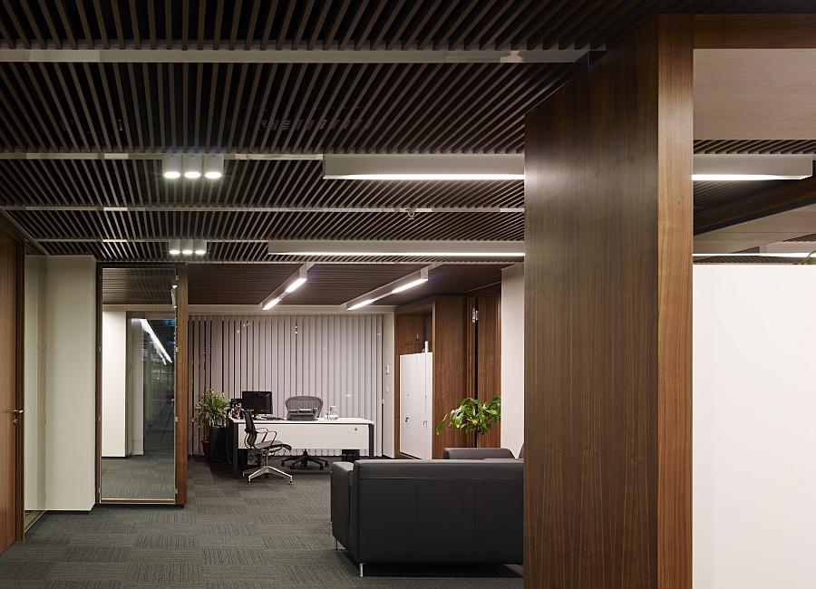 Grey brings urbane elegance to the modern office