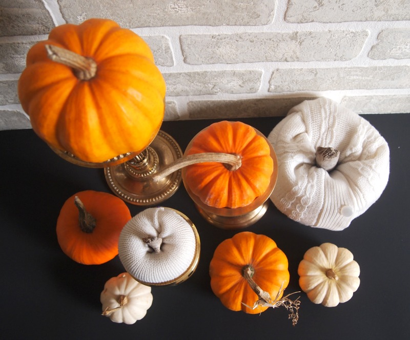 Halloween DIY pumpkin decorating idea