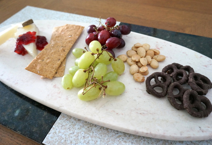 A cheese plate is the perfect Halloween snack