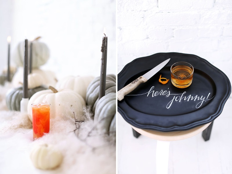 Halloween party ideas from Design Love Fest 3 Fun and Festive Halloween Party Concepts