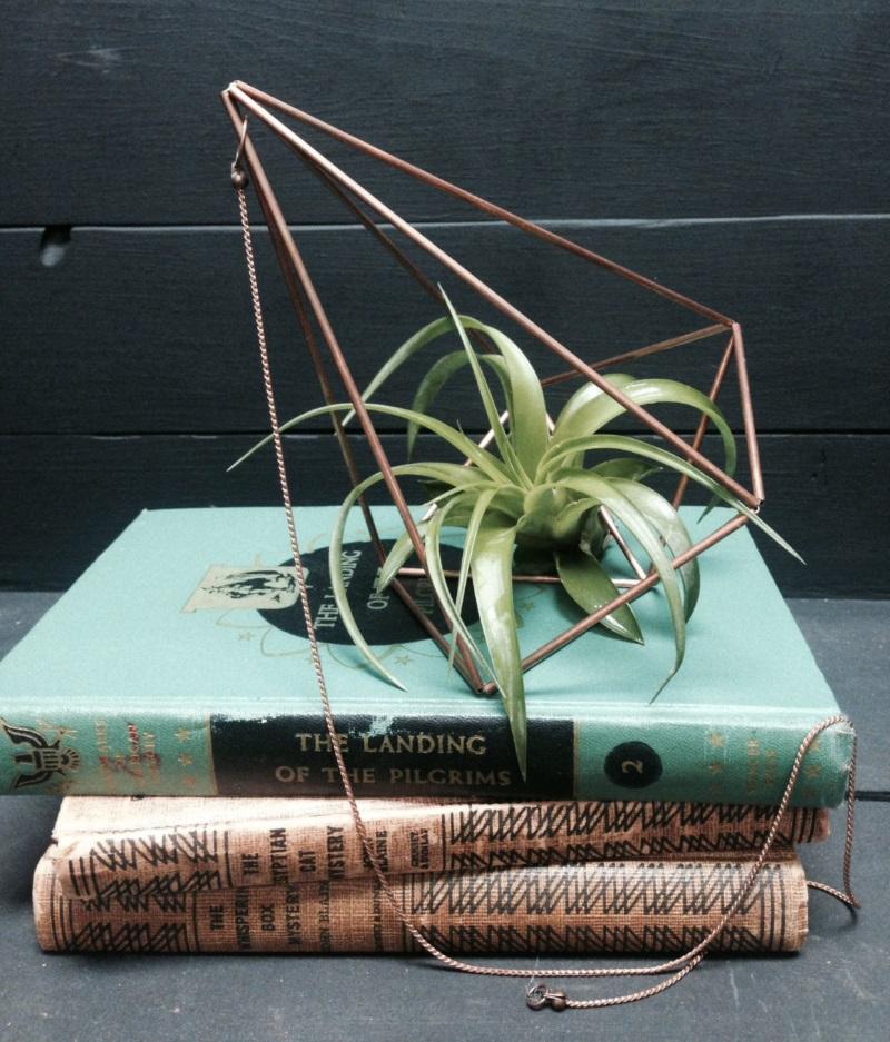 Hanging geometric planter from Urban Geometry