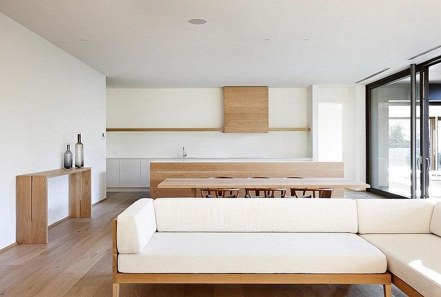 Keeping the decor elegant and minimal