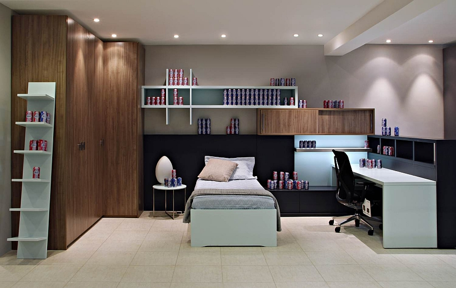 Kids' bedroom design in the store with elegant style
