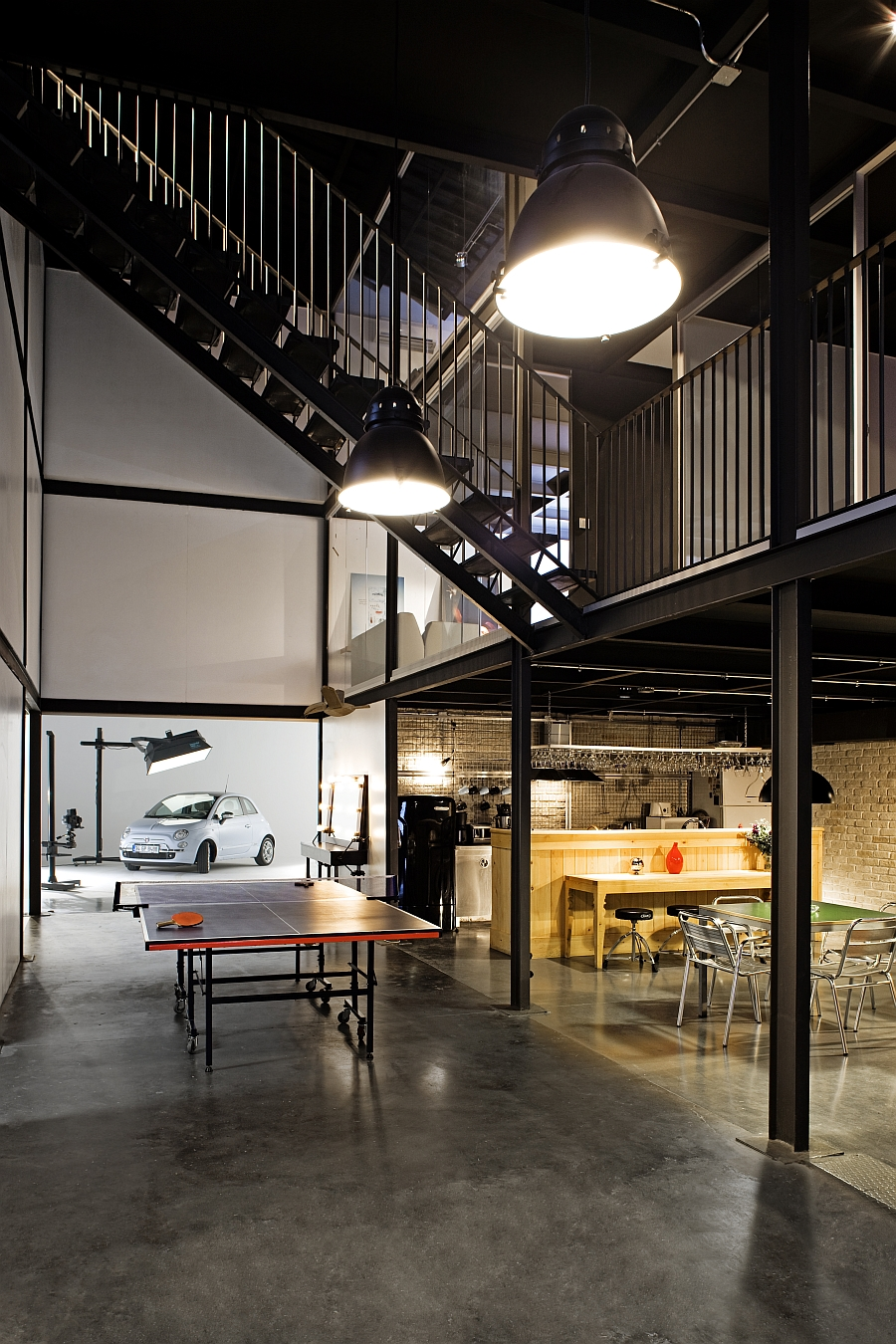 Old warehouses make stunning office spaces for Industrial design company
