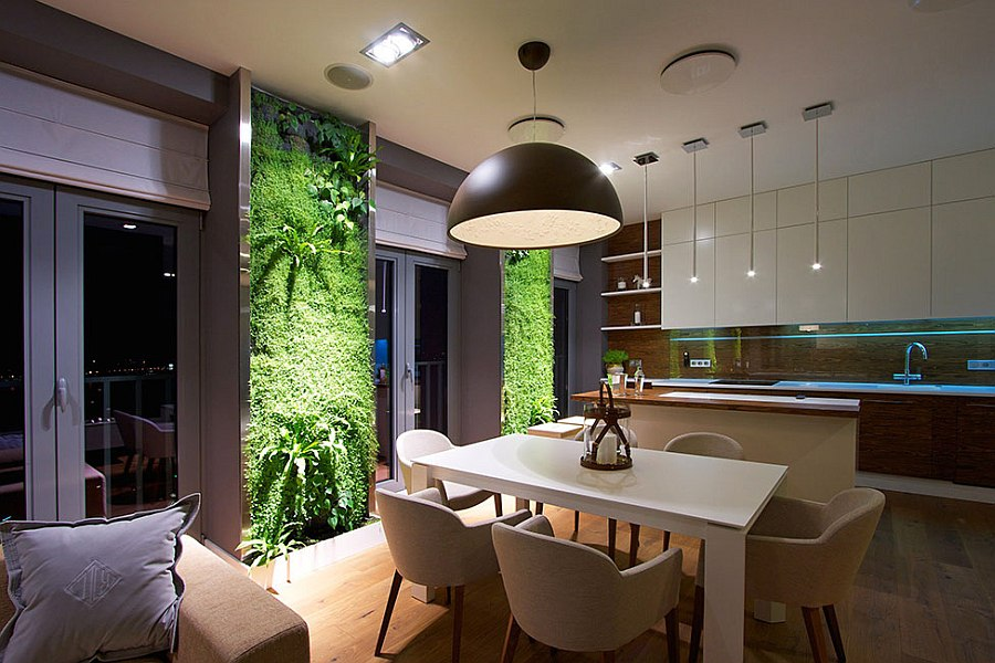Living wall additions give your home a dynamic backdrop