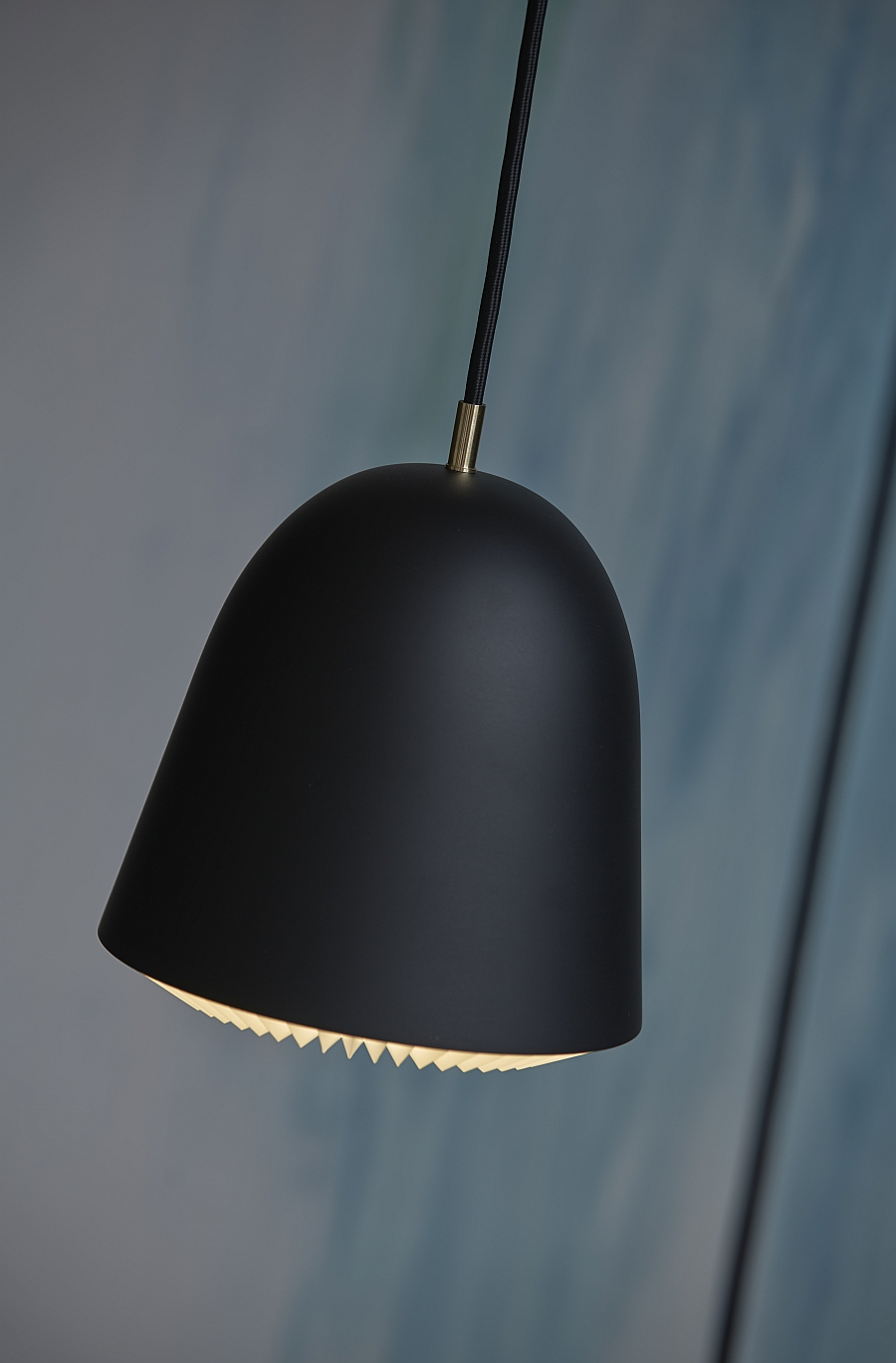 Minimal design of the Cache pendant makes it perfect for the modern home