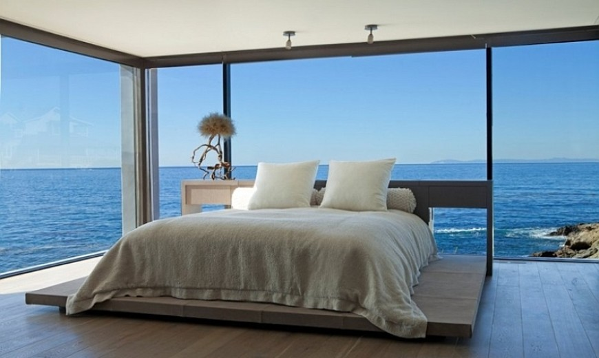 Matrimonio Bed Ocean : Modern bedrooms with an ocean view