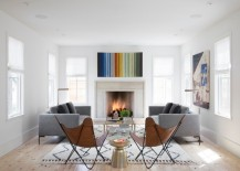 10 Cozy Rooms With A Modern Fireplace
