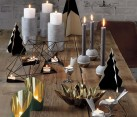 Modern candleholders from CB2