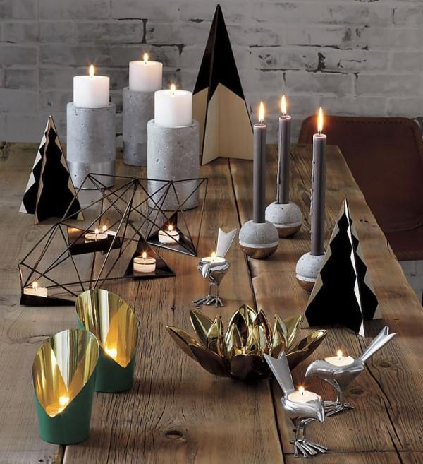 Modern candleholders from CB2