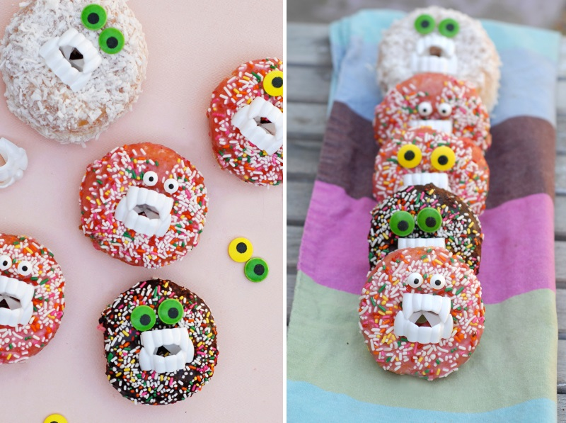 Monster donuts from A Subtle Revelry