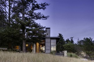 Natural landscape around the North bay Residence offers ample cover
