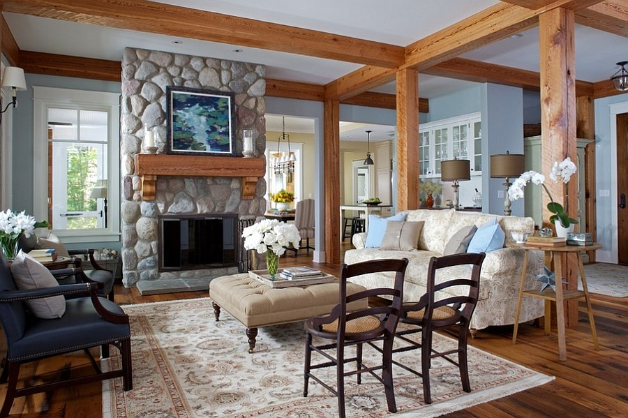 Rustic Style 30 rustic living room ideas for a cozy, organic home