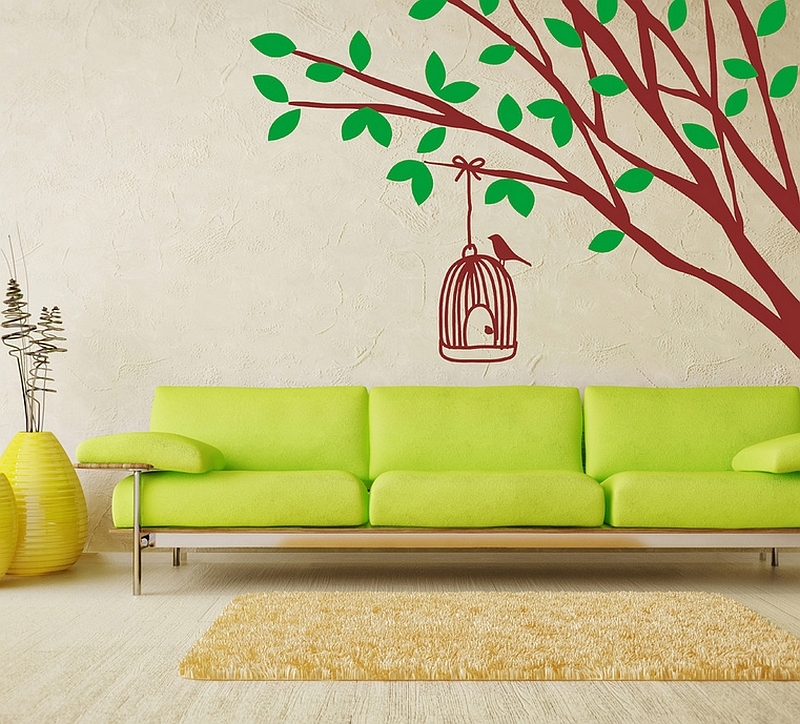 Nature Wall Decor: Decorating With Birdcages: 30 Creative Ideas