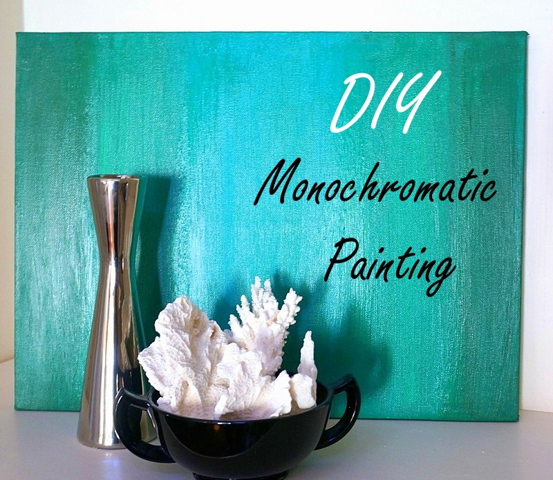 Official monochromatic painting header Chic Monochromatic DIY Painting With Ombre Style