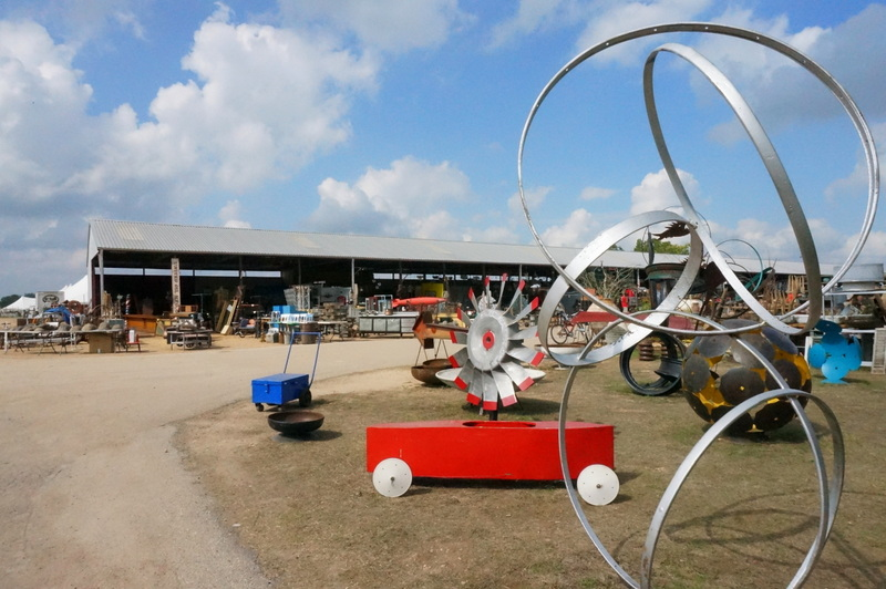 Sculptural finds at Excess Field in Warrenton