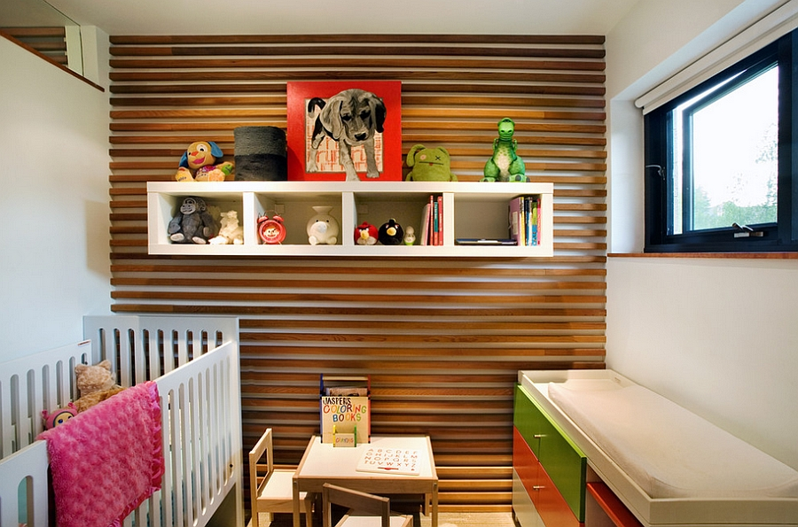 Small nursery room design for the modern home [Design: S2 Architects]