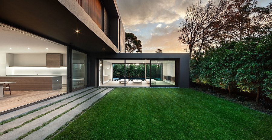 Smart design of the Bay House creats a serene getaway right at home